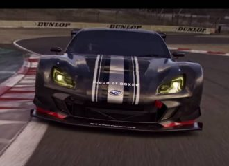 Περήφανο για τον boxer το Subaru BRZ GT300 (+video)