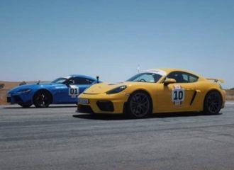 Η Supra «φορτώνει» την Cayman GT4 (+video)