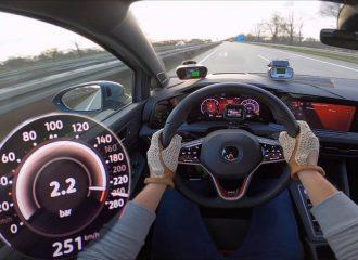 Τσίτα τα bar με VW Golf GTI Clubsport (+video)