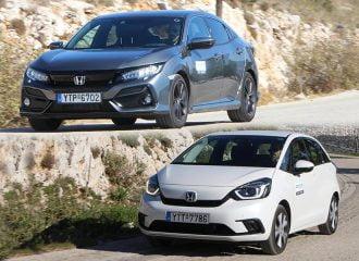 Honda Jazz e:HEV ή Civic 1.0 VTEC Turbo στα ίδια λεφτά;