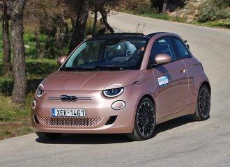 Δοκιμή ηλεκτρικό Fiat 500 Cabrio 118 PS