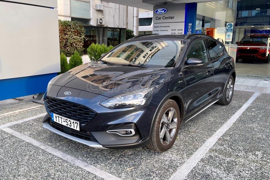 Πλούσιο Ford Focus Active X για τον τυχερό