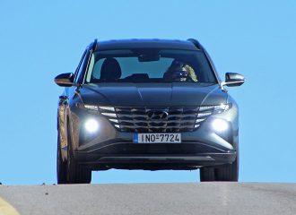 Δοκιμή Hyundai Tucson 1.6 T-GDi 180 PS 48V Hybrid iMT
