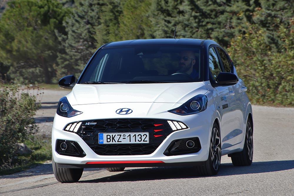 Δοκιμή Hyundai i10 1.0 T-GDI 100 PS N Line