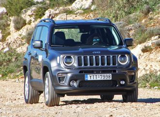 Δοκιμή Jeep Renegade 4xe Limited 1.3 TB 190 hp