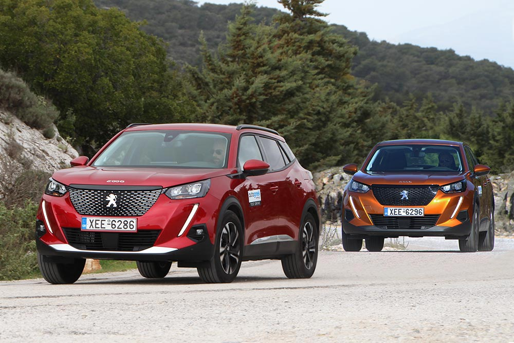 Peugeot 2008 1.2 λτ. Βενζίνη ή 1.5 λτ. Diesel;