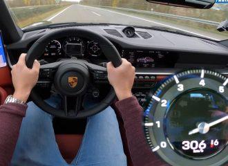 0-306 χλμ./ώρα με Porsche 911 Targa 4S (+video)