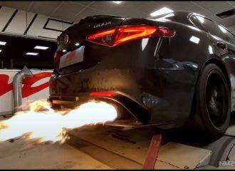 «Ανάφτρα» Alfa Romeo Giulia QV 622 ίππων (+video)