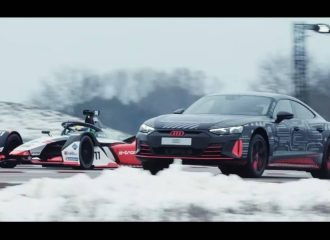 Το Audi RS e-tron GT ρίχνει σε Formula! (+video)