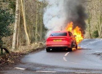 «Στάχτη και μπούρμπερι» Audi RS 3 850 ίππων (+video)