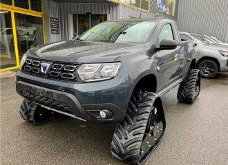 Οι Γάλλοι κάνουν «τανκ» το αγροτικό Dacia Duster