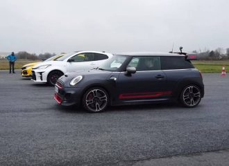 MINI GP vs GR Yaris vs Type R Limited Edition (+video)