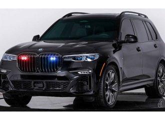 Θωρακισμένη BMW X7 «μασάει» χειροβομβίδες