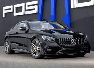 Ισοπεδωτική Mercedes-AMG S63 Coupe 930 ίππων