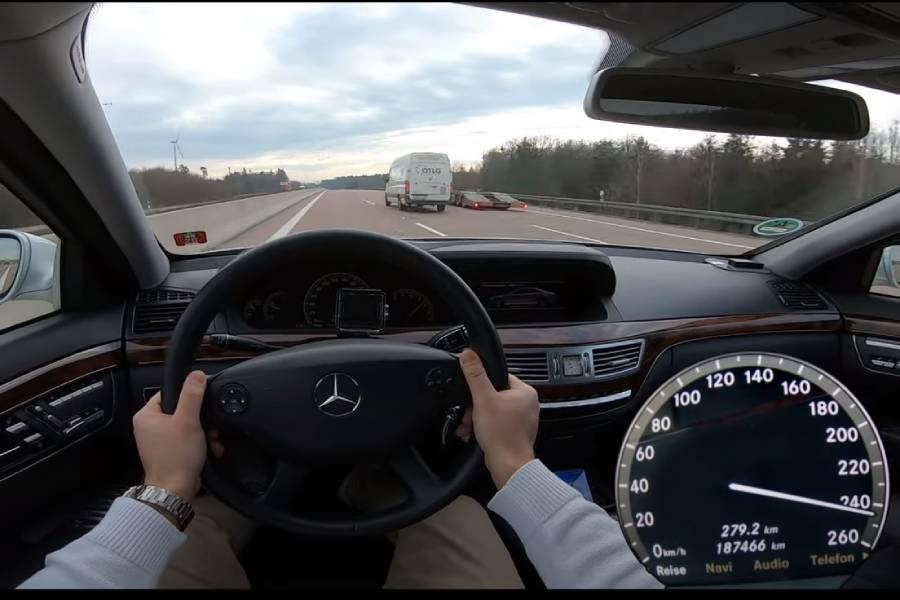 Ντίζελ S-Class 15ετίας πάει «βέλος» στα 250 (+video)