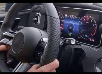 Τελικές με την επόμενη Mercedes C-Class (+video)