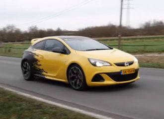 «Σανίδα» με Opel Astra OPC MK3 (+video)