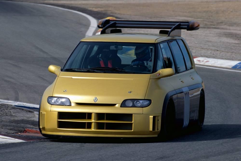 Θυμάστε το παρανοϊκό Renault Espace F1;
