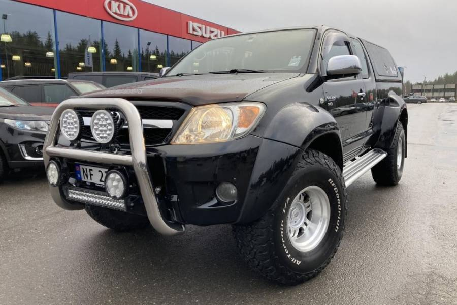 «Αρκτικό» Toyota Hilux σε τιμή που παγώνει