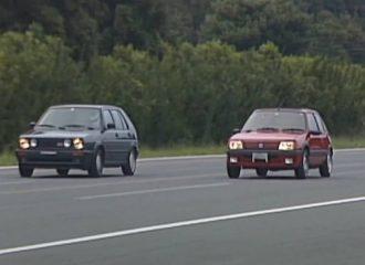 Όταν VW Golf GTI και Peugeot 205 GTi «σφάζονταν»