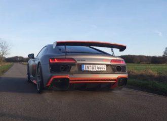 0-314 χλμ./ώρα με Audi R8 802 ίππων (+video)