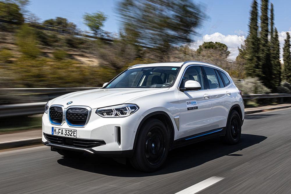 Οδηγούμε την ηλεκτρική BMW iX3