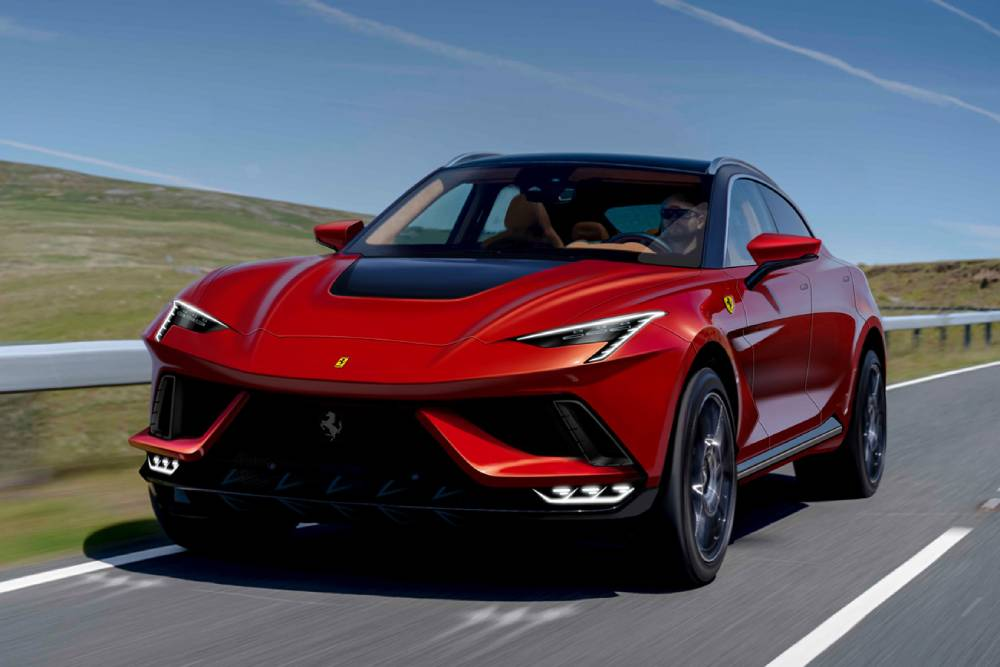 Πώς θα σας φαινόταν να είναι έτσι το SUV της Ferrari;