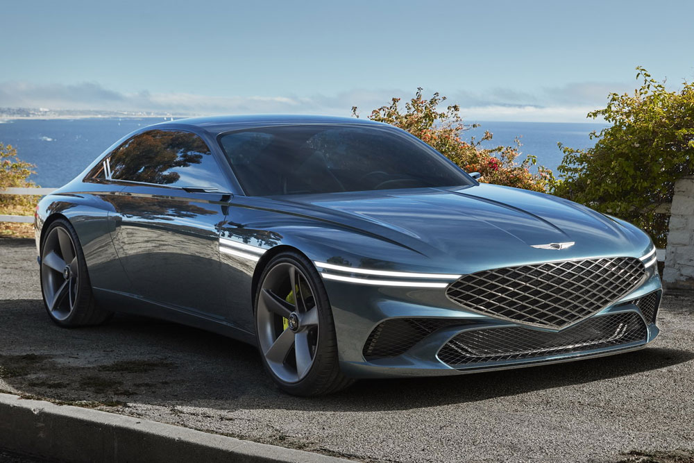 To νέο Genesis X Coupe δείχνει το μέλλον της μάρκας