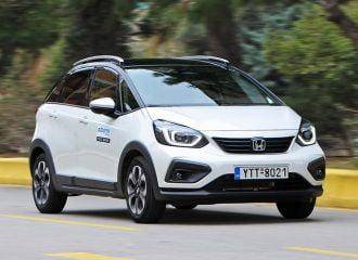 Δοκιμή Honda Jazz Crosstar e:HEV 1.5 i-MMD Hybrid