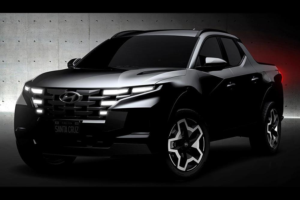 Αποκάλυψη του νέου pickup Hyundai Santa Cruz