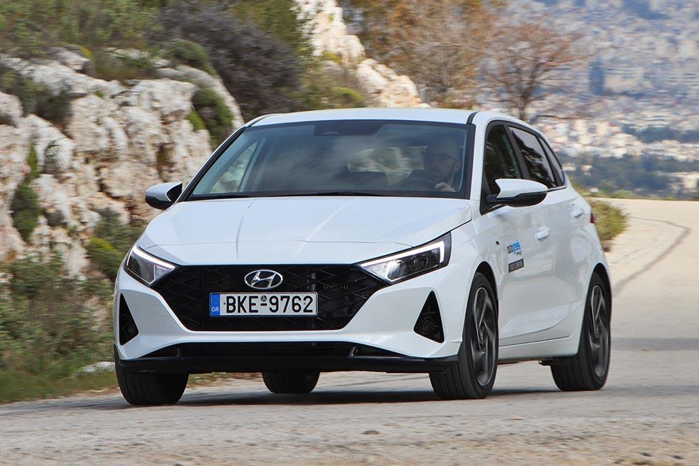 Δοκιμή Hyundai i20 1.0 T-GDI 100 PS 48V DCT