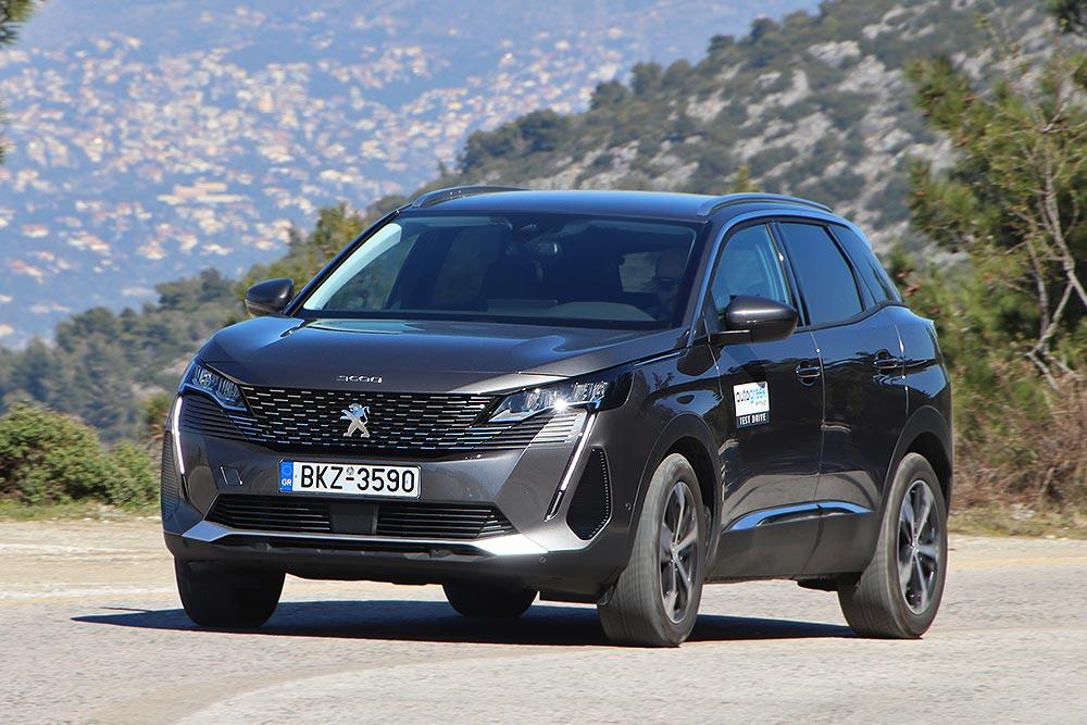 Δοκιμή Peugeot 3008 1.5 BlueHDi 130 PS