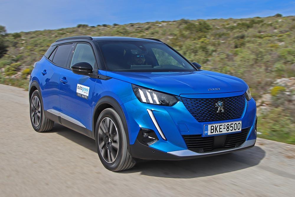 Δοκιμή Peugeot e-2008 136 PS
