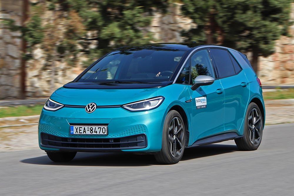 Δοκιμή VW ID.3 1st Edition 204 PS