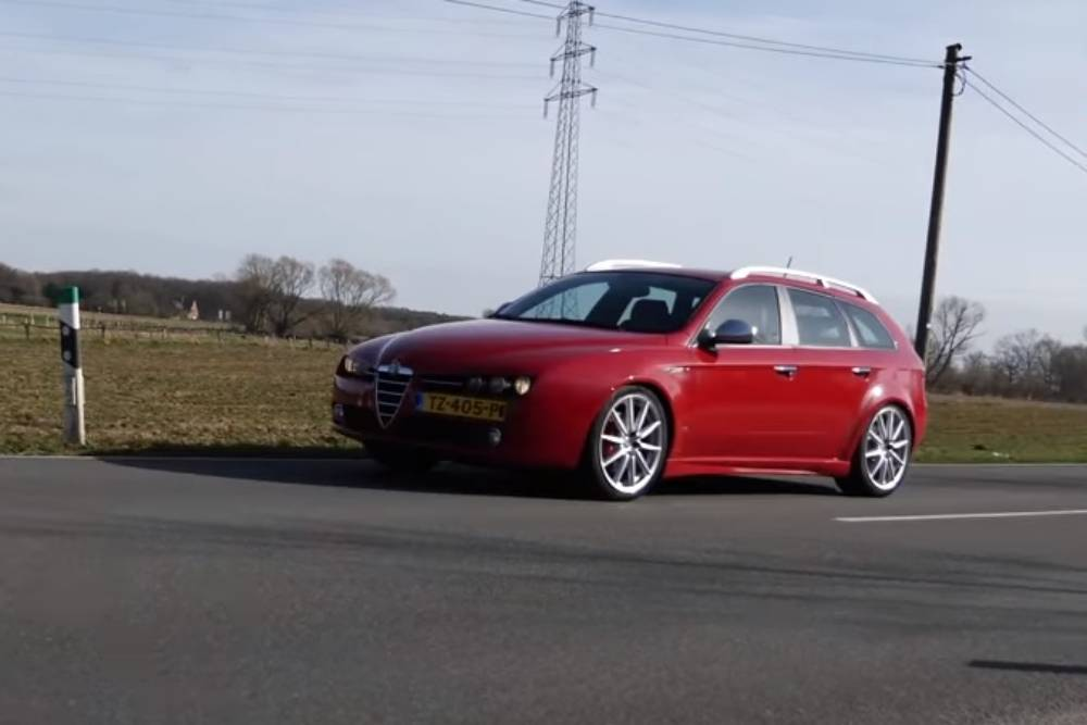 V6 τελικές με Alfa Romeo 159 3.2 Sportwagon (+video)