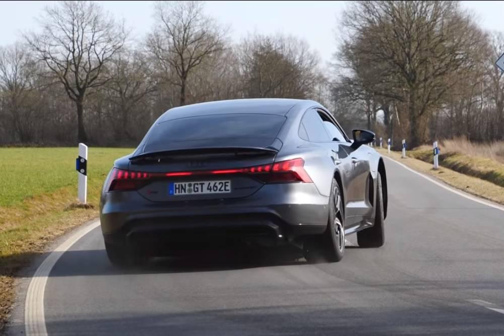 Δραμαμίνες με Audi RS e-tron GT στο 0-260 (+video)