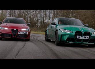 Alfa Romeo Giulia QV εναντίον νέας BMW M3 (+video)