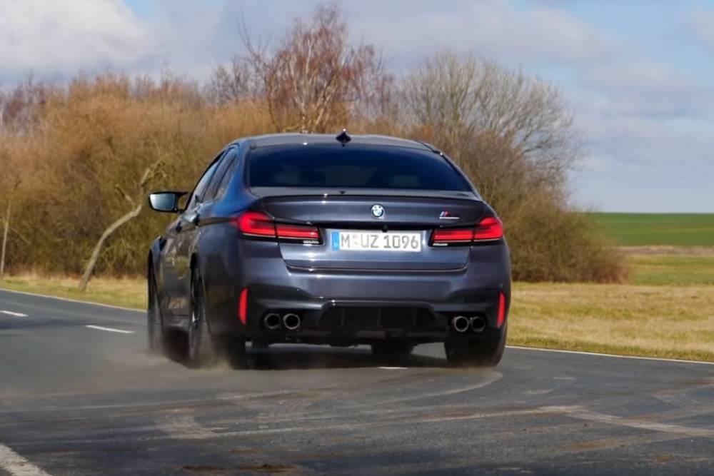Διακτινισμός με BMW M5 Competition (+video)