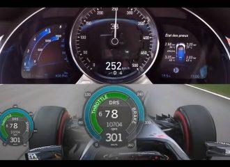 Πώς στέκεται η Bugatti Chiron δίπλα στην F1; (+video)
