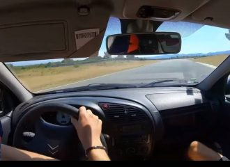 Citroen Xsara σε ρεσιτάλ πλαγιολίσθησης (+video)