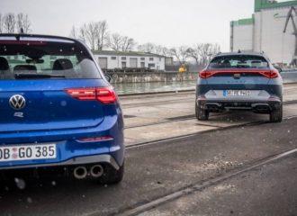 Το Cupra Formentor «βαράει» το VW Golf R (+video)