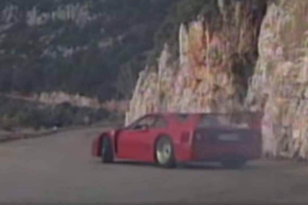 Όταν οι Ιταλοί «έστυβαν» τη Ferrari F40 (+video)