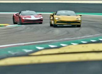 Οι πανίσχυρες Ferrari SF90 στη θρυλική Ίμολα (+video)