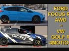Focus RS vs Golf R: Ποιο έχει καλύτερη τετρακίνηση;