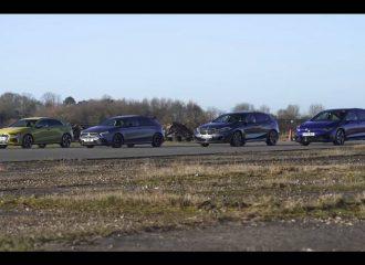 Της Γερμανίας στα τετρακίνητα hot hatches (+video)