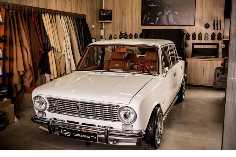 Εκθαμβωτικό Lada 2101 μετά από αναπαλαίωση