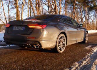 Χειμερινές απολαύσεις με Maserati Quattroporte Trofeo