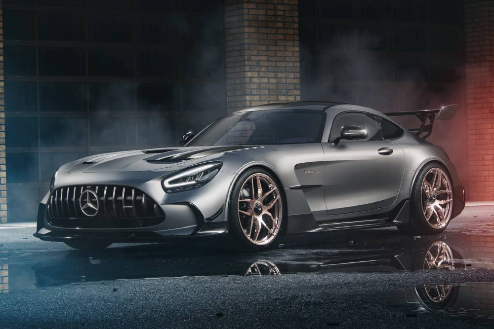Τρομερή Mercedes-AMG GT Black Series 790 ίππων