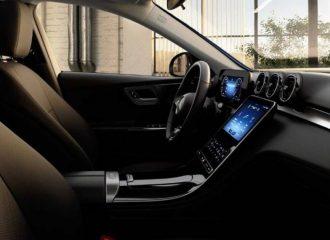 Με κουμπιά το εσωτερικό της βασικής Mercedes C-Class