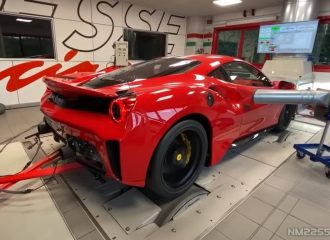 Ferrari 488 Pista 820 ίππων σκορπάει ρίγη (+video)